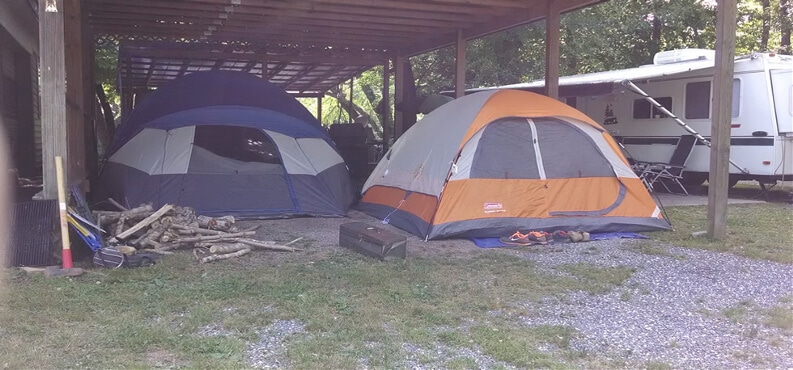 We offer year round c&ing at our c&ground! Our c&sites are just steps from the Tuckasegee River and c&ers have three easy access areas to the river. & Year Round Camping | Fantastic Year Round Camping! | RV Park